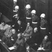 The main war criminals. Nuremberg 1946