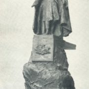 The project of the monument to Kosta Khetagurov. Clay. 1941