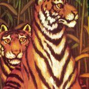 Tigers. 1975. F.A. Shalaev