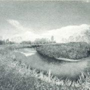 V.D. Melnikov. Autumn on the Toimenka river. 1975
