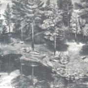V.N. Ulyanov. Landscape. 1976