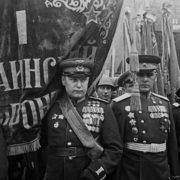 Victory parade. The First Ukrainian Front. June 24, 1945