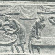 Washerwomen. Bronze. 1928