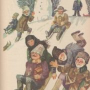 Winter joy, book illustration