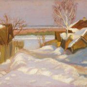 Winter landscape. 1942