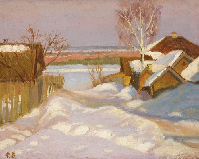 Winter landscape. 1942