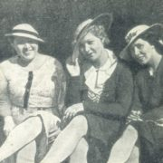 With colleagues Maria Darskaya (left) and Anna Redel (right)