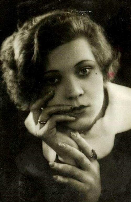 Soviet female singer Klavdiya Shulzhenko (March 24, 1906 – June 17, 1984)