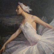 1953 portrait of Maya Plisetskaya