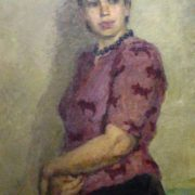 Anya Varnovitskaya. 1945