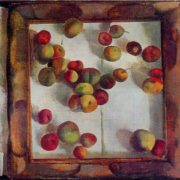 Apples. 1969. Oil, canvas. Directorate of exhibitions of the Union of Artists of the USSR