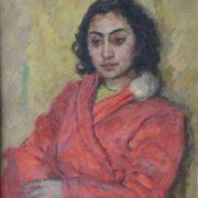 Armenian girl. 1950