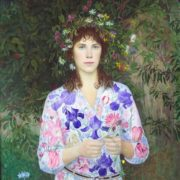 August. Self-portrait