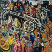 Bazar (market). 1968. Oil, canvas