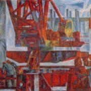 Bridge. 1974. Canvas, tempera