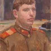 Excellent worker of the Soviet Army. Sergeant Yevgeny Anatolyevich Novikov