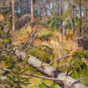 Forest. 1909. Oil