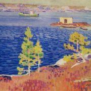 Gridinsky raid. 1966. Canvas, tempera