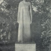 Headstone of Janis Poruks (Latvian poet). 1930