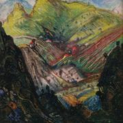 Imereti. 1968. Oil, canvas