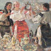 Kumantsy. 1962. Exhibition 'Soviet Ukraine'