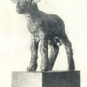 Lamb. 1933. The granite. Art Museum of the Latvian SSR