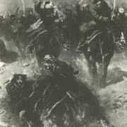 Heavy attack under Bataisk. Fragment oil. 1934