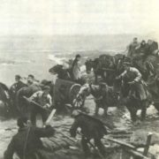 To Kuban. Fragment oil. 1934
