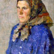 Milkmaid Popova. 1965