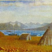 Neznayemy Gulf. 1950s. Canvas, oil. Arkhangelsk Museum of Fine Arts