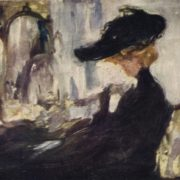 Parisian lady. 1909