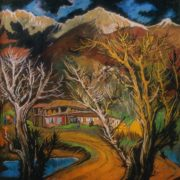 Pasanauri. 1970. Oil on canvas