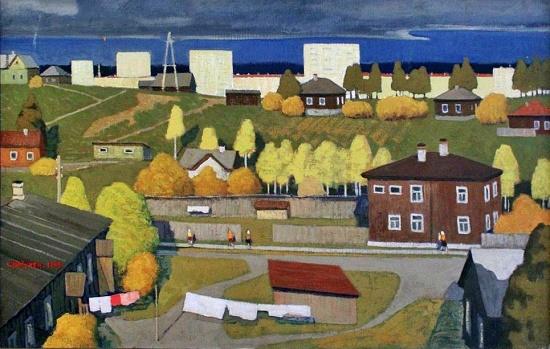 Petrozavodsk. Autumn. 1969