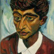 Poet Fikret Godja. 1960. Oil, canvas. USSR Art fund