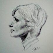 Portrait of Larisa Shepitko - director of the film 'Ascension'