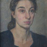 Portrait of a stranger. 1950