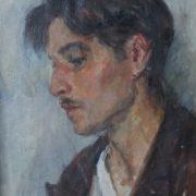 Artist Anufriyev, portrait. 1942