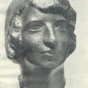 student M. Pakali. 1919. Bronze. Art Museum of the Latvian SSR