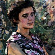 Portrait of wife. 1957