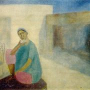Samarkand. Yard. 1968. Oil, canvas