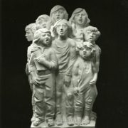 Singing children. 1979. Marble