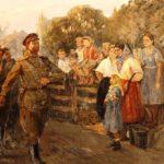 Soviet artist Pyotr Ivanovich Zhigimont 1914-2003