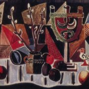 Still life with apples. 1969. Oil on canvas