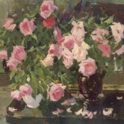 Still life with roses