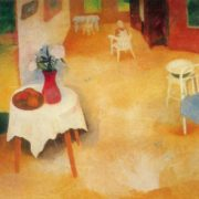 Summer interior. 1970. Oil, canvas, tempera. Tallin Art museum