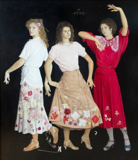 Soviet Russian painter Tatyana Fyodorova