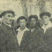 Tyko with sons. 1935