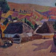 Village. 1963. Oil on canvas