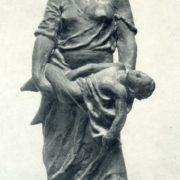 Soviet Georgian sculptor Tamara Abakelia (September 1, 1905 - May 14, 1953)
