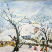 Winter. 1960. Oil, canvas